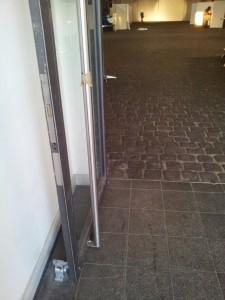 Türstopper Eingang Schuppen 6
